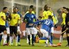 Copa America 2015. Brazylia - Kolumbia 0:1, czerwona kartka Neymara