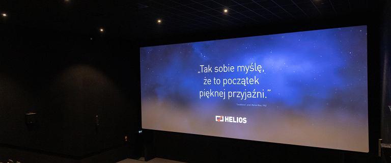 Helios otwiera kina 3 lipca. Prywatne seanse i klasyka kina