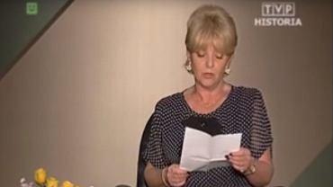 Stanisława Ryster w 'Wielkiej grze'