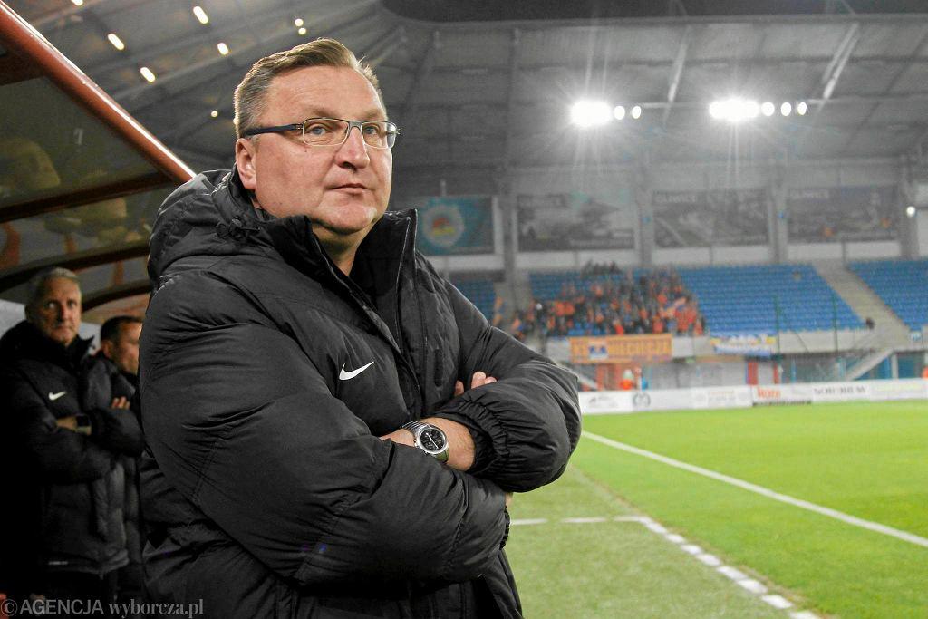 Czesław Michniewicz, trener Termaliki