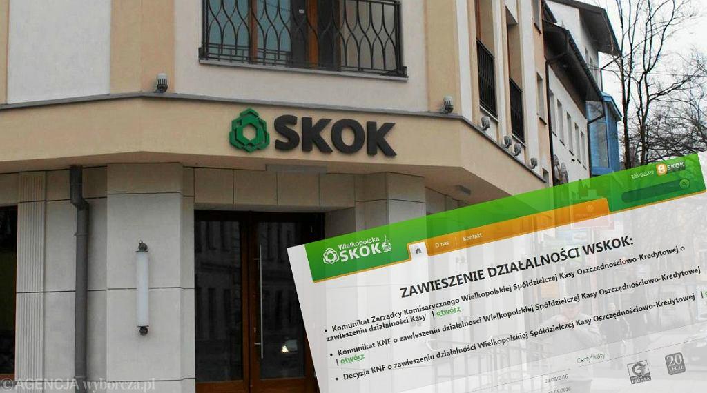 zawieszenie działalności WSKOK