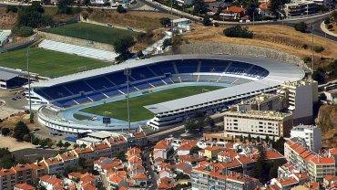 Estadio do Restelo w Lizbonie. To tu zagra Lech Poznań