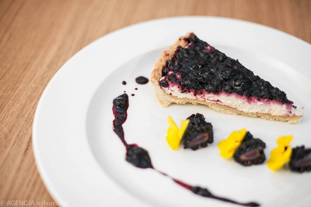 / Tarta Blueberry's /Fot. Dawid Żuchowicz