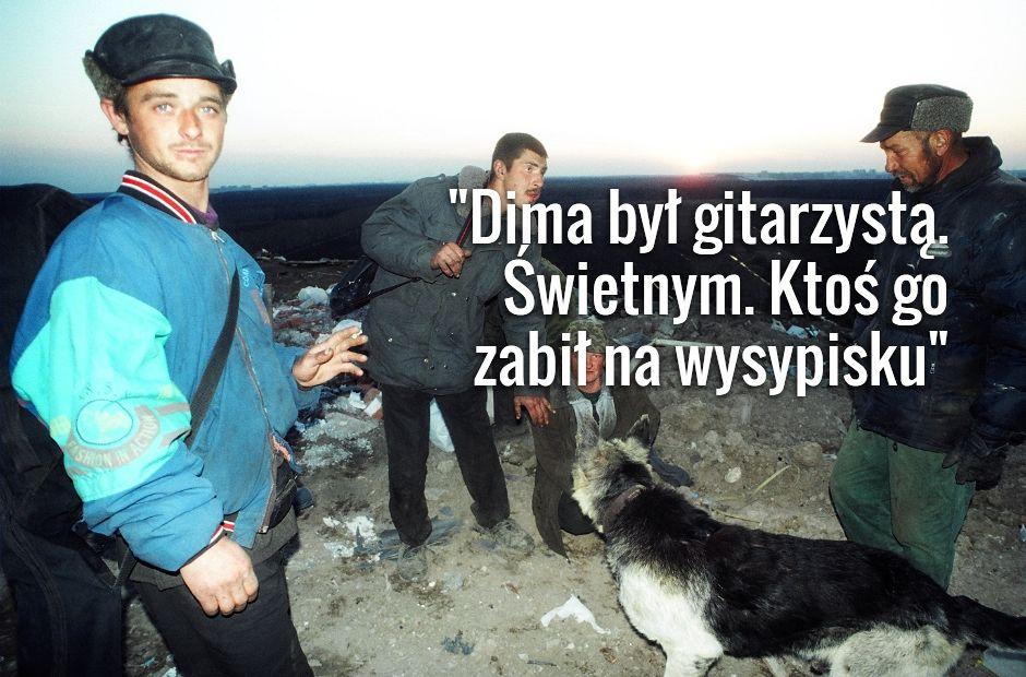 Dima (w niebieskiej kurtce) (fot. Hanna Polak)
