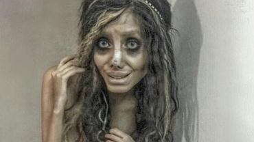 Jak naprawdę wygląda 'zombie Angelina Jolie'?