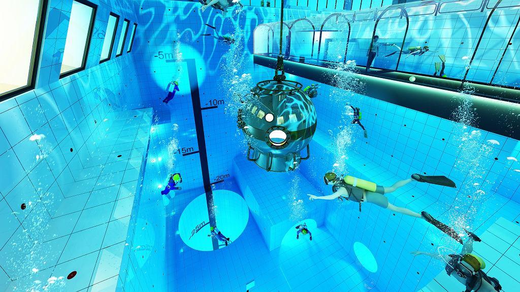 W Polsce powstaje najgłębszy basen na świecie