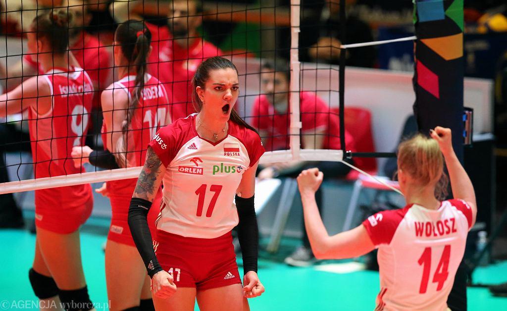 Siatkówka kobiet, mecz Polska - Turcja. Apeldoorn, 11.01.2020