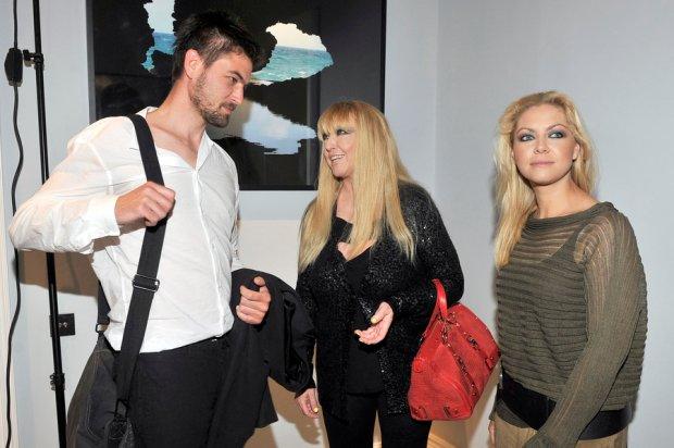 Maryla Rodowicz w 2011 roku z dziećmi: Janem i Kasią Jasińskimi