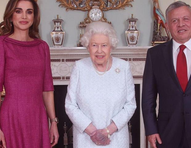 Królowa Elżbieta II w Jordanii