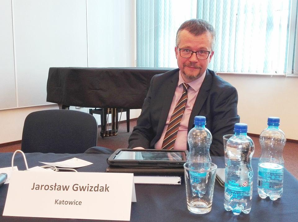 Sędzia Jarosław Gwizdak, prezes sądu w Katowicach, Obywatelski Sędzia Roku 2015, propagator mediacji