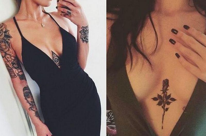 Tatuaż Między Piersiami Ozdoba Którą Pokochasz Nie Tylko