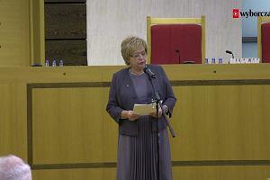 """""""Poglądy i sympatie nie mogą wpływać na sądownictwo"""". Prof. Małgorzata Gersdorf o roli sędziego"""