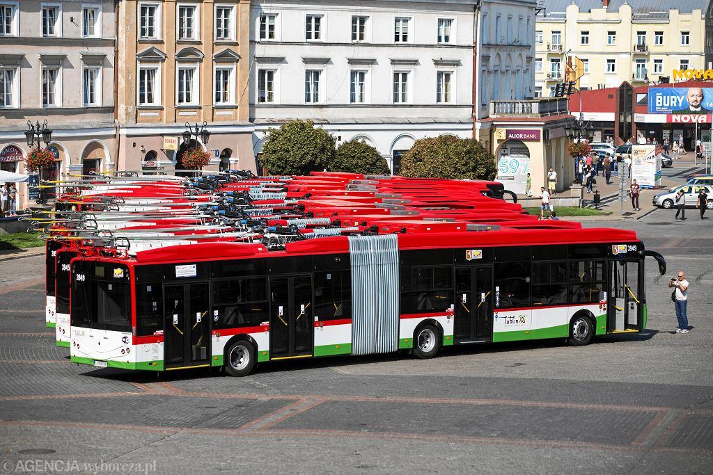Trolejbusy marki Ursus w Lublinie