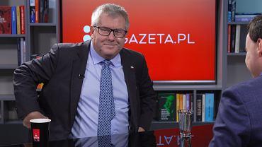 Poranna Rozmowa Gazeta.pl - gościem Ryszard Czarnecki