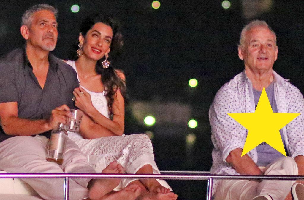 George Clooney, Amal Clooney, Bill Murray