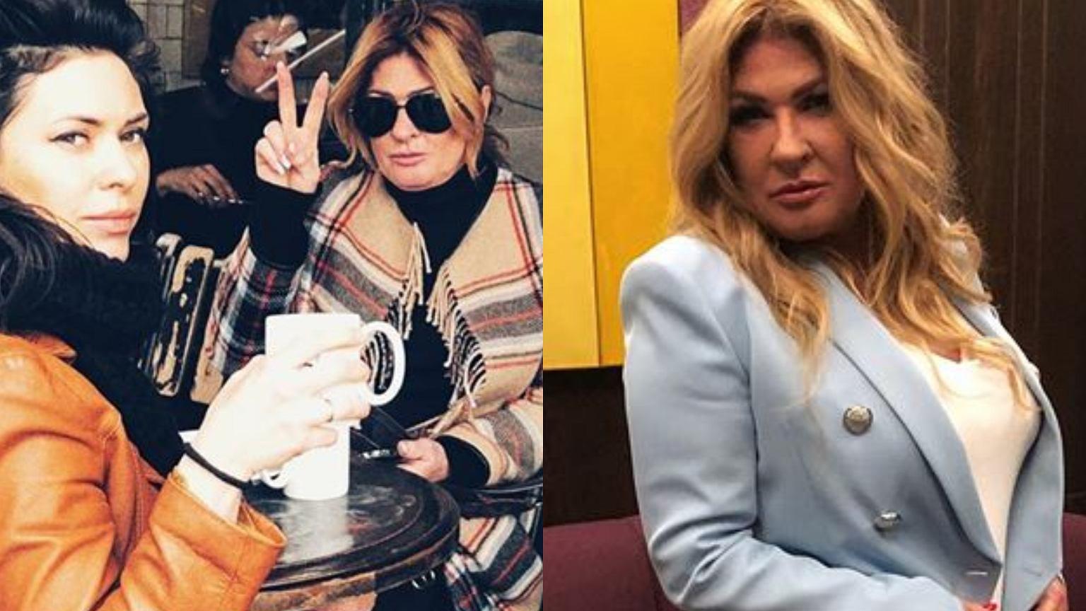 Beata Kozidrak popija wino z córkami i buszuje po sklepach w Paryżu