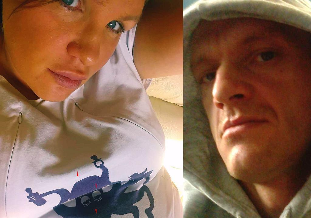 Ryszard 'Szczena' Dąbrowski i Joanna Wielocha zostali rodzicami