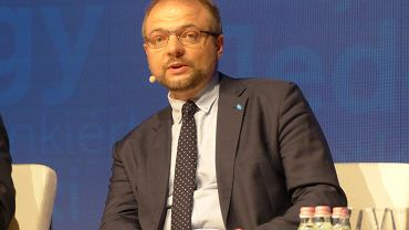 Aleksander Stępkowski łączył funkcję szefa Ordo Iuris ze stanowiskiem wiceministra spraw zagranicznych. Teraz jest sędzią Sądu Najwyższego. Na zdjęciu - na konferencji w Budapeszcie.