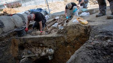 Szczątki znalezione w dawnym areszcie przy Rakowieckiej