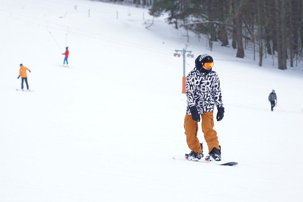 Zdjęcie ilustracyjne / stok narciarski