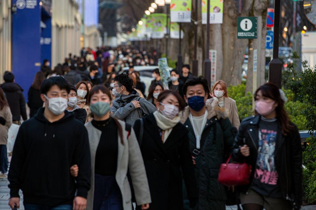 Tokio w Japonii, marzec 2021