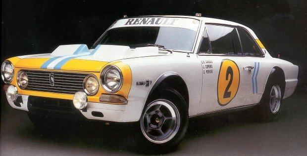 IKA-Renault Torino 380 w wersji rajdowej