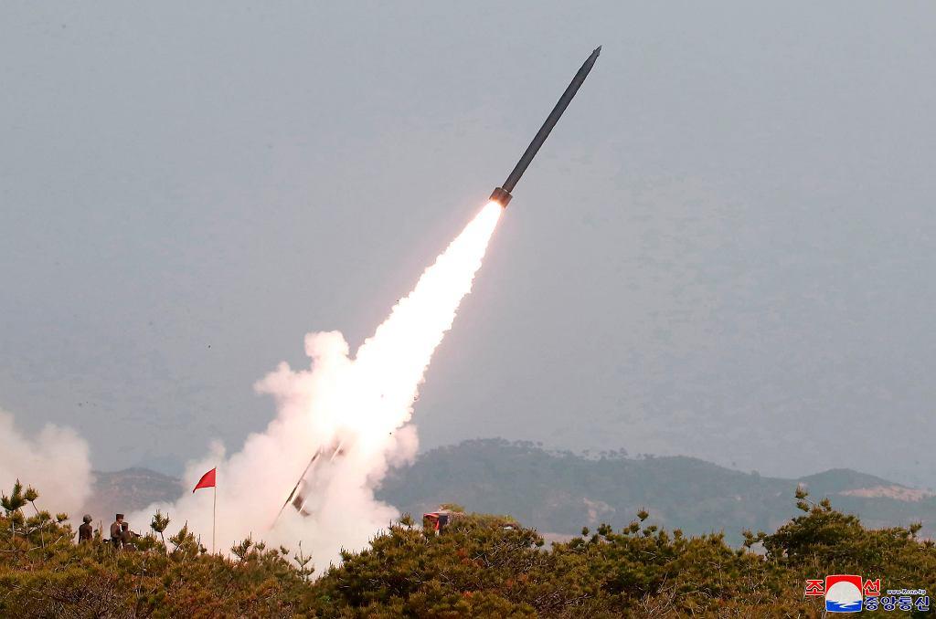 Korea Północna. Testy rakietowe z 4 maja 2019 roku