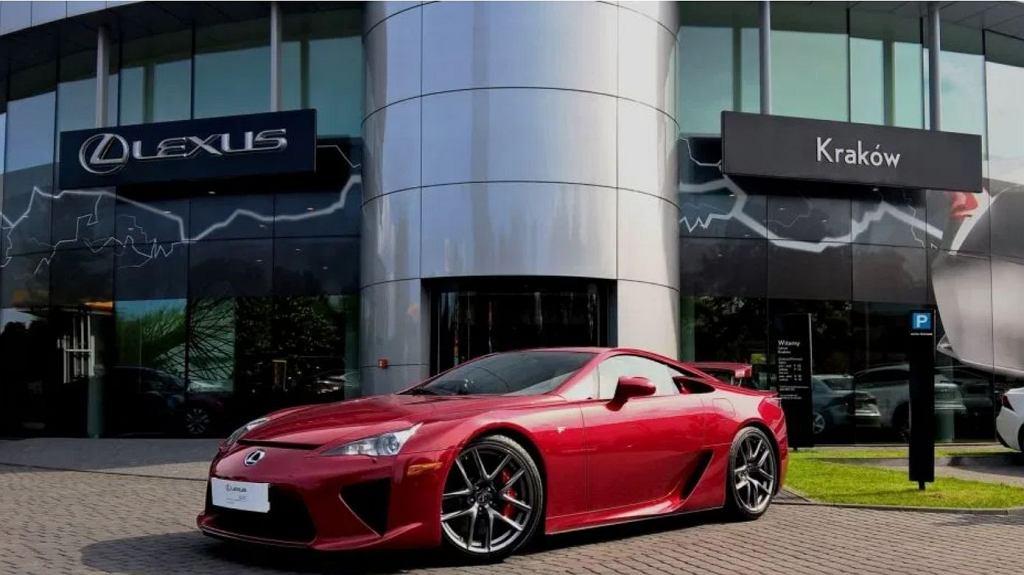 Lexus LFA wystawiony na sprzedaż w Polsce