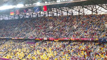 Lwów. Mecz Portugalia - Niemcy - zdjęcie wykonane HTC X ONE