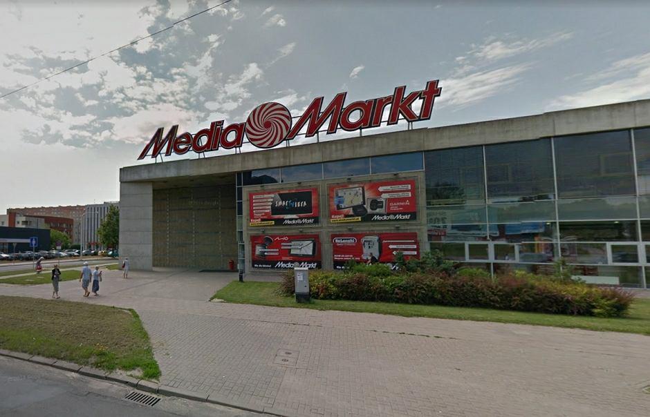 Sklep Media Markt przy ul. Zana w Lublinie