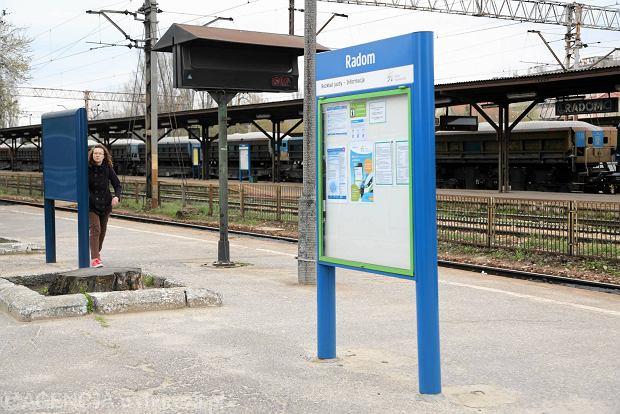 Kolejowy przetarg rozstrzygnięty. Ruszy remont stacji Radom