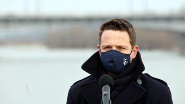 Rafał Trzaskowski zaskoczył swoją propozycją patronki dla nowego stołecznego mostu