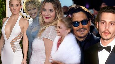 Kate Hudson, Dre Barrymore, Johnny Depp