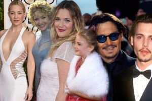 Kate Hudson, Dre Barrymore, Johnny Depp