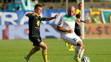 GKS Katowice - Zagłębie Sosnowiec 0:1. Maciej Bębenek