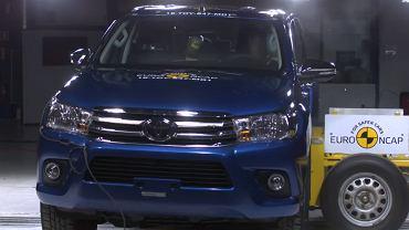 Toyota Hilux - testy zderzeniowe