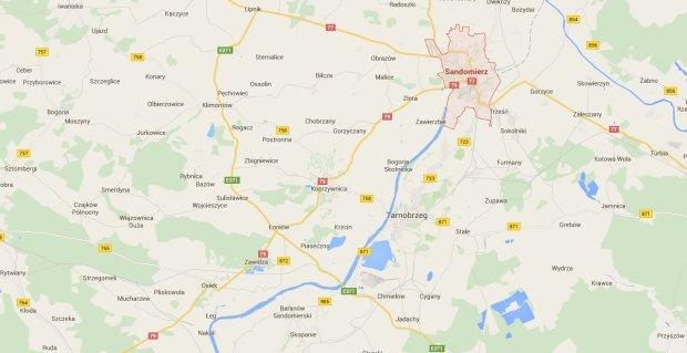 Wisla Zniknela Dzis Na Pare Godzin Z Google Maps Czy To Przez Upaly
