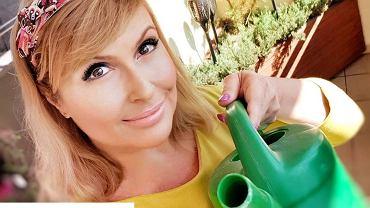 Katarzyna Skrzynecka pokazała, jak farbuje włosy w domu