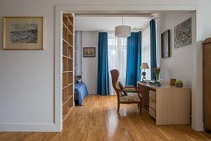 Mieszkanie po generalnym remoncie. Ocalono ducha przedwojennej Warszawy