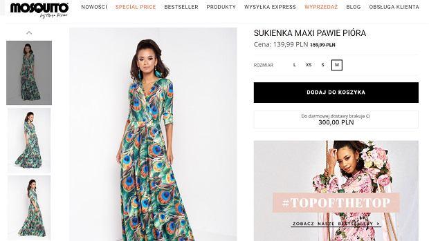 Sukienka Mosquito, którą ma w swojej szafie Anna Lewandowska