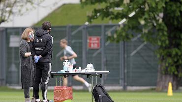 Legia wraca do treningów przy Łazienkowskiej