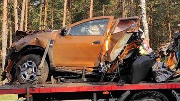Wypadek Dacii Duster - auto pękło na pół
