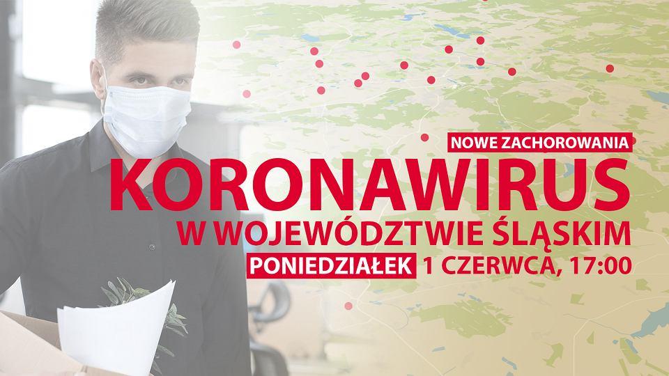Koronawirus w województwie śląskim. Najnowsze informacje 1 czerwca, godzina 17:00
