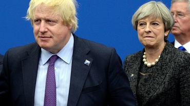 Boris Johnson i Theresa May