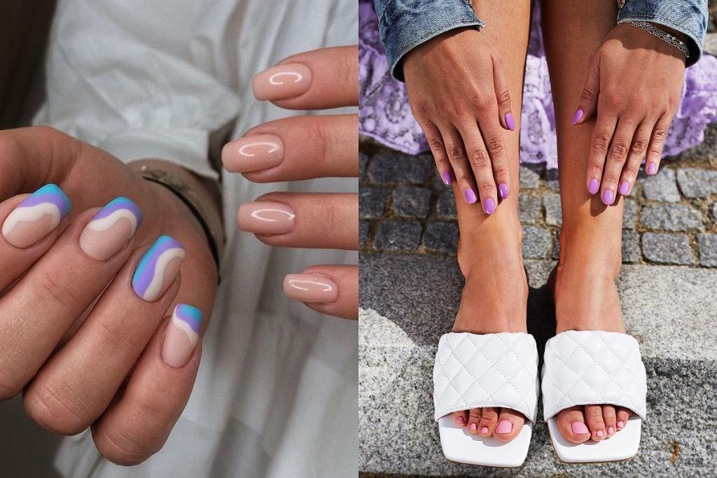 Modne kolory paznokci na lato 2021