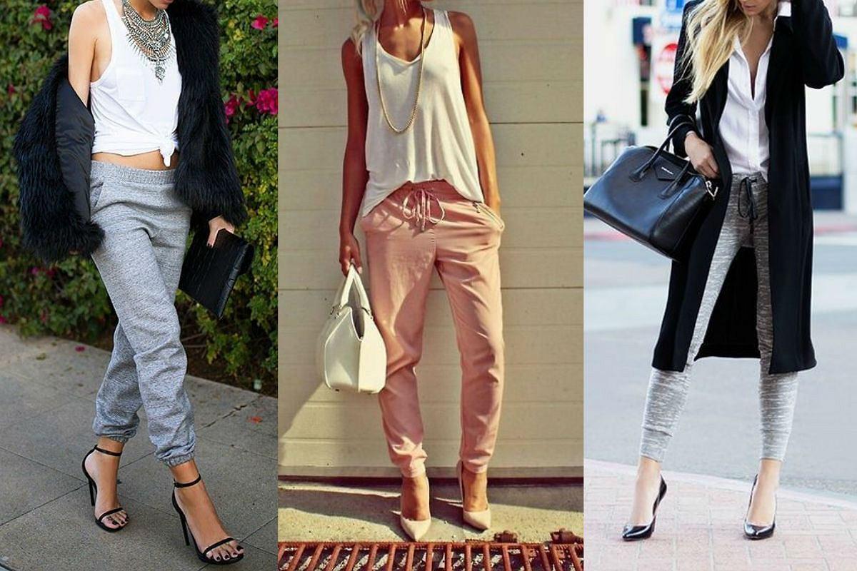 100341c6 Spodnie dresowe nie tylko na siłownię! Eleganckie stylizacje