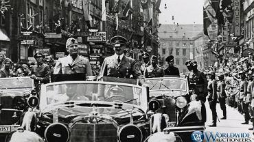 Mercedes 770K Grosser Offener Tourenwagen Adolfa Hitlera