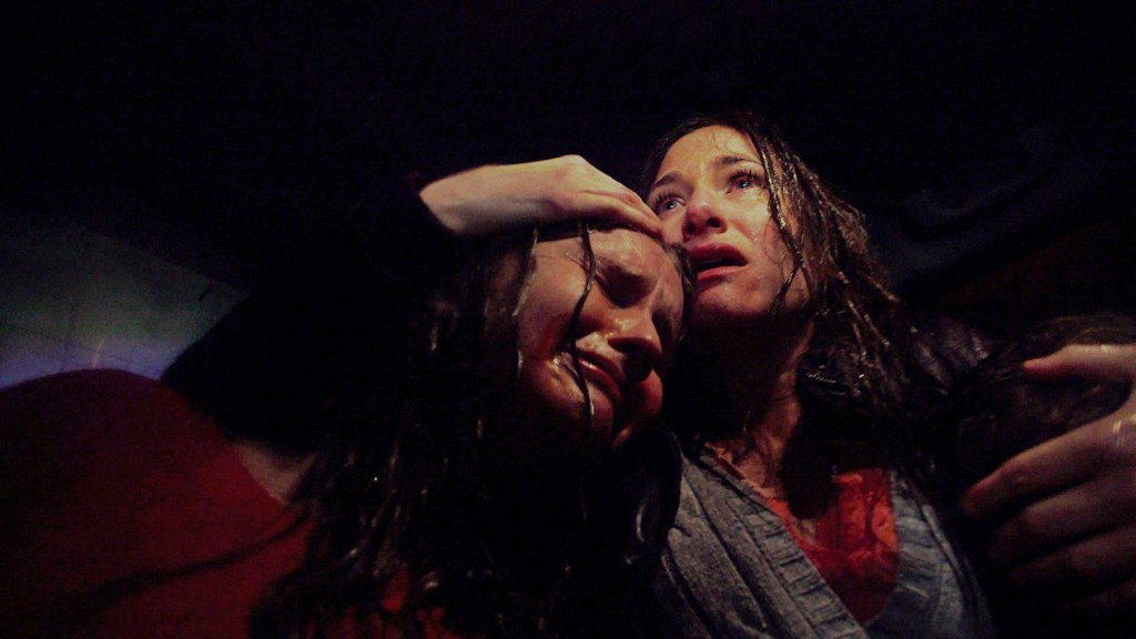 Kadr z filmu 'Wizyta'