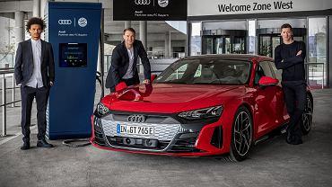 Audi stawia punkty ładowania na Allianz Arena 21
