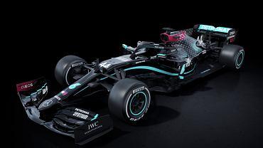 Nowy bolid Mercedesa na sezon 2020 w Formule 1. Źródło: Twitter